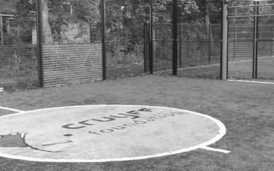 Bijdrage voor Cruyff Court op Kiem in Dordrecht