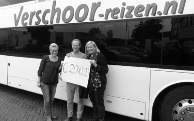 ZMLK school 'De Kleine Wereld' naar de Efteling met dank aan Verschoor Reizen